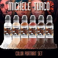 Краска для тату WF Michele Turco Color Portrait Set